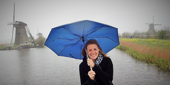 Me @ Kinderdijk, Netherlands